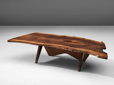 George Nakashima, 'Slab Coffee Table in American Walnut', 1958 or 1962