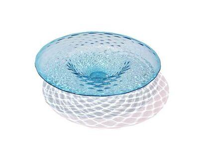 Lukeke Design, 'Strawberry Platter (Aqua)', 2018