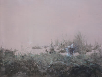 Fu Site 傅斯特, 'Landscape with two gentlemen', 2017