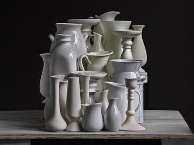 Abelardo Morell, 'White Vessels. Composition #2', 2020