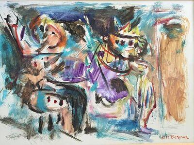 "Yosl Bergner, '""Untitled""', 20th Century"