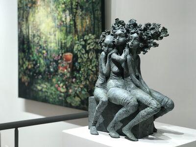 Valérie Hadida, 'Trio de coeur', 2020
