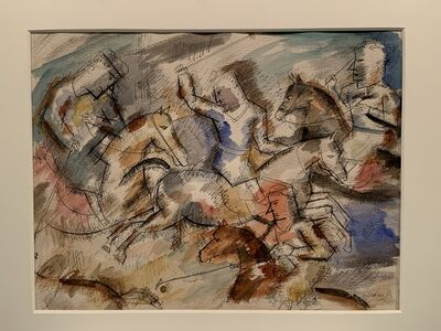 Louis Schanker, 'Polo', 1933