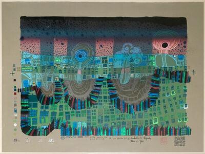 Friedensreich Hundertwasser, 'Citta nella Citta', 1979