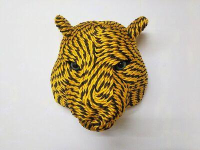 Okamoto Mitsuhiro, 'Tiger Head, from Tiger Rope Pattern', 2018