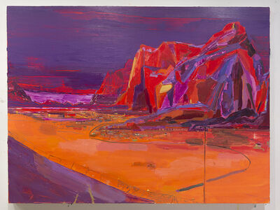 Lisa Sanditz, 'Purple Mountains', 2015