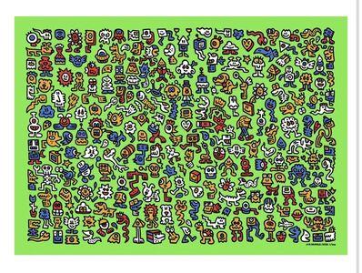 Mr. Doodle, 'Alien Town ', 2020