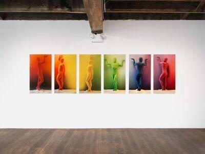 Matthew Morrocco, 'Orchid RGB Color Spectrum 1-6', 2018