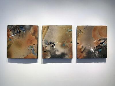 Jim Romberg, 'Dordogne Tracings (Triptych)', 2020