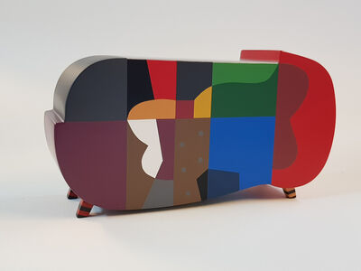 Dia Azzawi, 'Design Object (furniture) Ed. 1 of 5', 2018