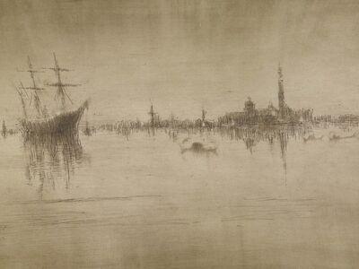 James Abbott McNeill Whistler, 'Nocturne', 1879-1880