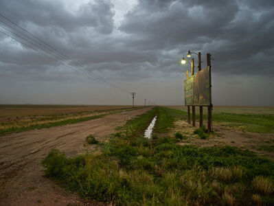 Andrew Moore, 'Approaching Dust Storm, Floyd County, Texas', 2013