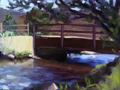 Tracy Wall, 'Water Under Bridge Dedisse Park', 2015