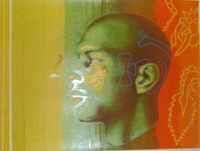 Ed Paschke, 'One on One (Portrait of Michael Jordan)', 1994