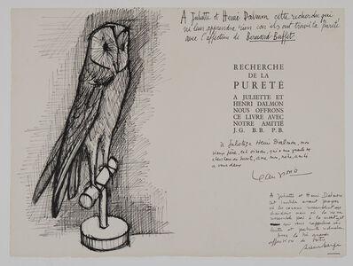 Bernard Buffet, 'Chouette ', 1953