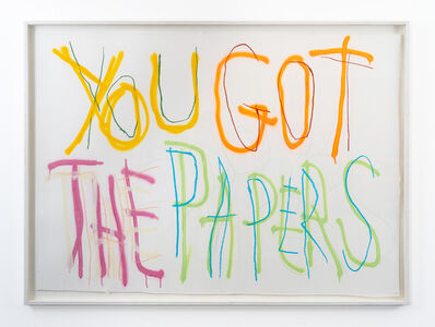 Thomas Langley, 'Papers', 2018