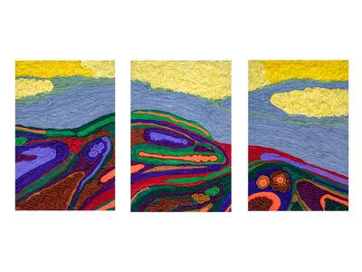 Meron Hailu, 'Landscape I (Triptych)', 2020