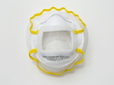 Keith Edmier, 'N95 Respirator Mask with Clear Window', 2020