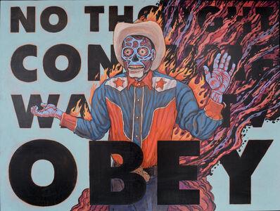 Brian K Jones, 'No. 32 - OBEY', 2020