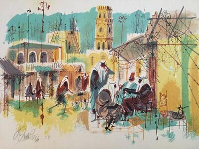 Shmuel Katz, 'Old City Jaffa', 20th Century