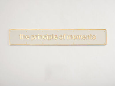Darren Almond, 'the principle of moments', 2016