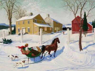 Charlotte Sternberg, 'Chasing the Sleigh', 1952