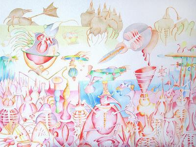 Pradeep Puthoor, 'Pink Soul Island', 2009