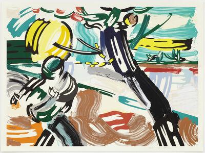 Roy Lichtenstein, 'The Sower', 1985