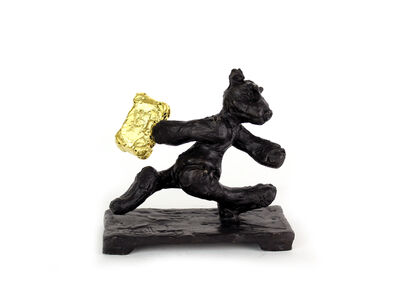 Patrick O'Reilly, 'Bear On The Run (Gold)', 2019