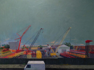 Ron Milewicz, 'Three Cranes', 2012