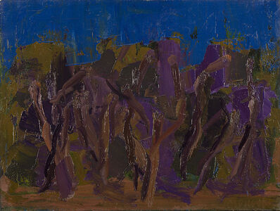 Ennio Morlotti, 'Ulivi a Bordighera', 1961