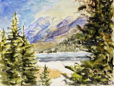 Dorothy Knowles, 'Icy Waters'