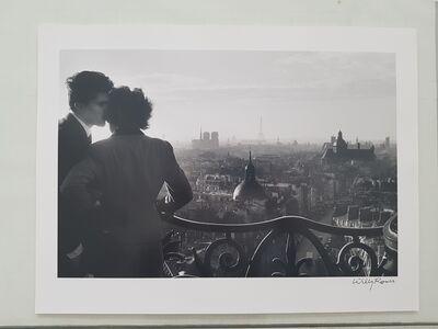 Willy Ronis, 'Les amoureux de la Bastille', 1957