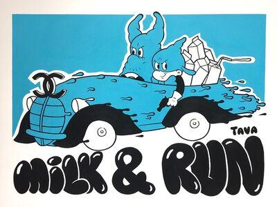 ANTOINE TAVAGLIONE, 'Milk & Run', 2017