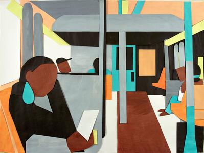Naomi Nemtzow, 'A Train #2', 2014