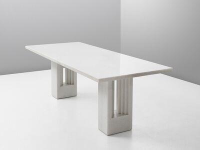 Carlo Scarpa, 'Carlo Scarpa & Marcel Breuer 'Delfi' Table in Marble', 1970