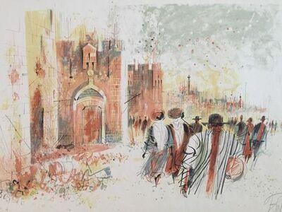 Shmuel Katz, 'Old City Jerusalem', 20th Century