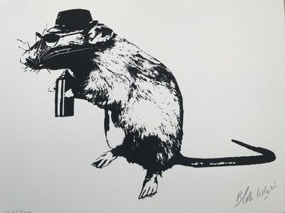 Blek le Rat, 'The Street Artist's Paraphernalia', 2016