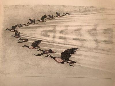 Laura Broaddus Hexner, 'Geese', 2019