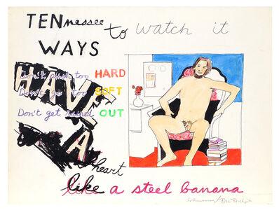 George Schneeman, 'Untitled (Ten Ways to Watch It)', ca. 1970