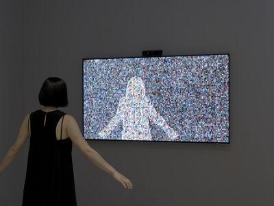Rafael Lozano-Hemmer, '1984x1984', 2015