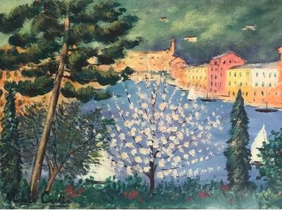 Michele Cascella, 'Portofino', ca. 1980