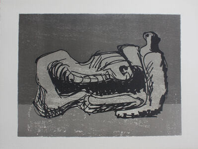 Henry Moore, 'Untitled (from San Lazzaro et Ses Amis portfolio)', 1975