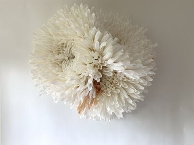 Tiffanie Turner, 'Three Chrysanthemums', 2020
