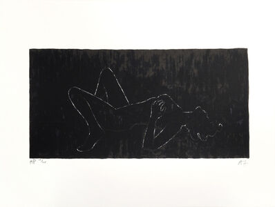 Angus Fairhurst, 'Everything but the Outline Blacked-In (Sophie Dahl)', 2006