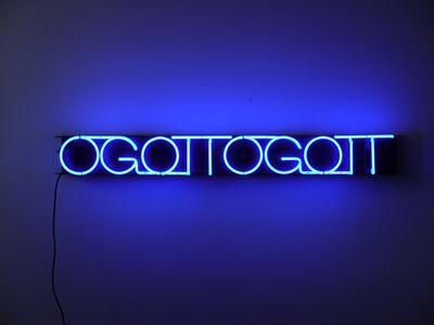 Albert Hien, 'OGOTTOGOTT (cobalt blue)', 2019
