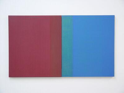 William Lane, 'Red Blue Diptych ', 2009