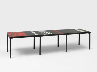 Roger Capron, 'Coffee table with eight feet', 1955