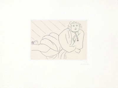 Henri Matisse, 'Jeune femme, la cordelière de son peignoir en collier', 1929