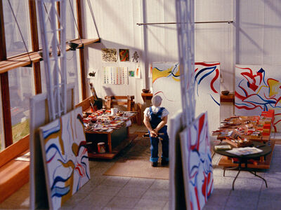 Joe Fig, 'Sometimes I'm Afraid of Yellow (Willem de Kooning 1984) I', 2001